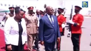 SEJOUR DU CHEF DE L'ETAT CONGOLAIS AU KENYA.