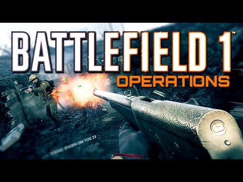 Battlefield 1: Aggressive Medic Support - 100+ Game on Operations (PS4 PRO Gameplay)