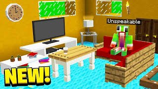 DECORATING MY *NEW* MINECRAFT HOUSE!