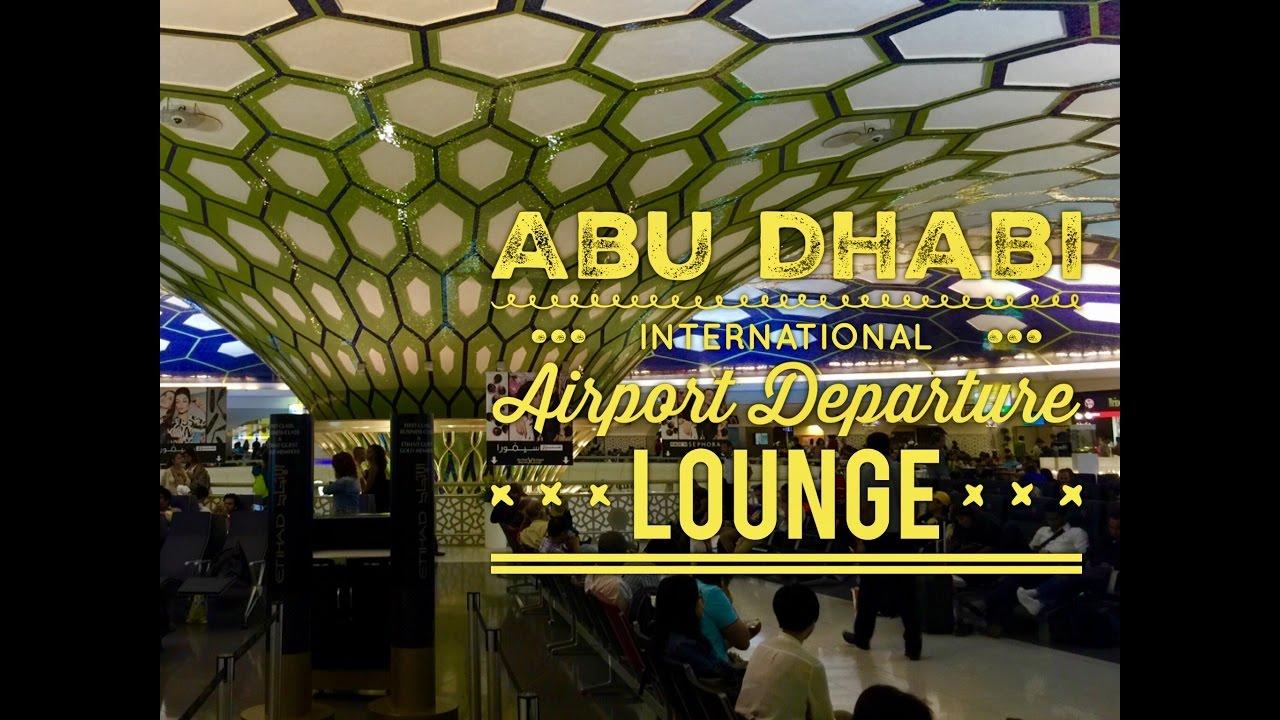 Abu dhabi international airport departure lounge tour by for International decor company abu dhabi