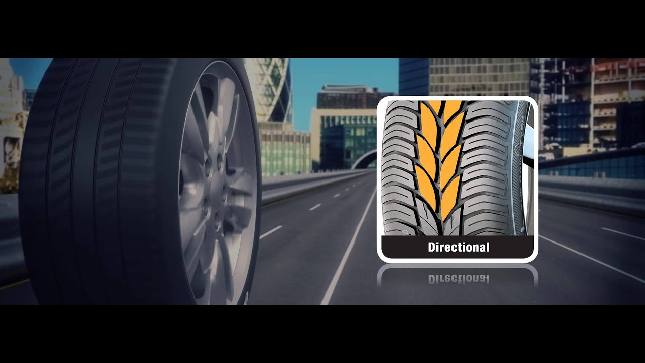 Tyre Tread: what's the difference between asymmetric and