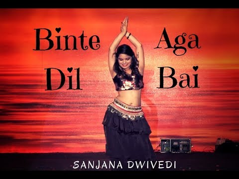Binte Dil / Aga Bai Bollywood Belly Dance Mashup - Sanjana Dwivedi - Creative Collaborations Media