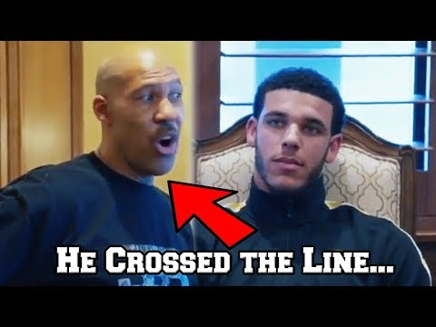 LEAKED FOOTAGE of Lonzo & LaVar Ball FIGHTING Over the State of Big Baller Brand