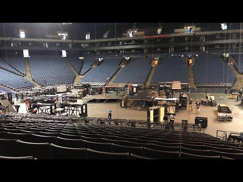 Oakland Coliseum JPA Raiders Recap, Elton John Concert Setup