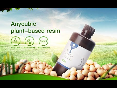 Curious about Anycubic plant based resins? Help you enjoy your printing in a healthier way!