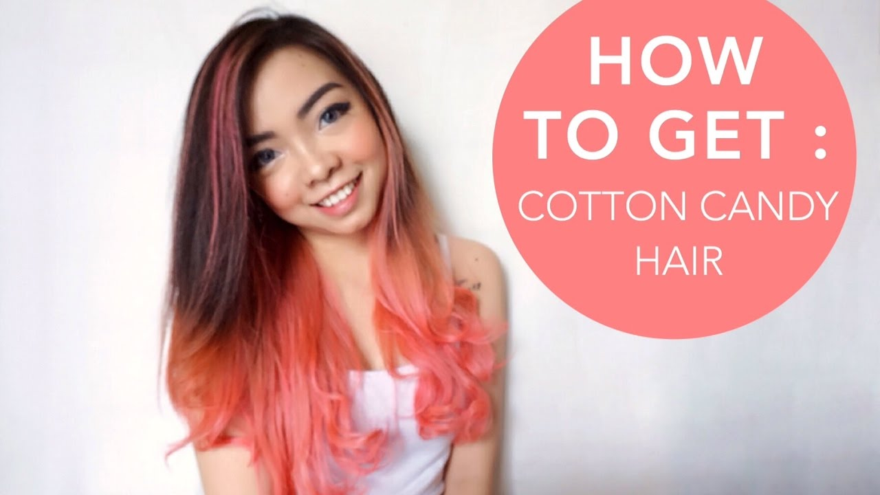 HOW TO GET : Cotton Candy Hair Tutorial   New Year , New ...