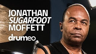 """Jonathan """"Sugarfoot"""" Moffett: Leading Drum Grooves With Your Foot (FULL DRUM LESSON)"""