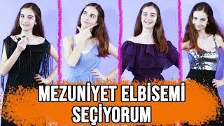 MEZUNİYET KIYAFETİMİ SEÇİYORUM! | 4 Farklı Kıyafet Denedim!