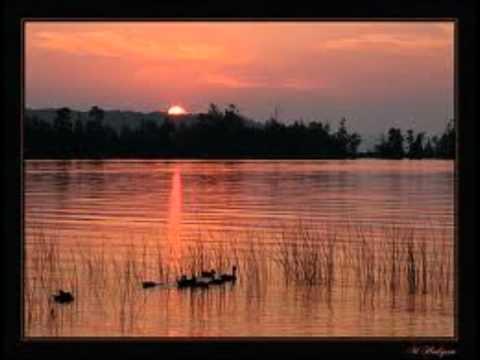 Sunset on The Waterside