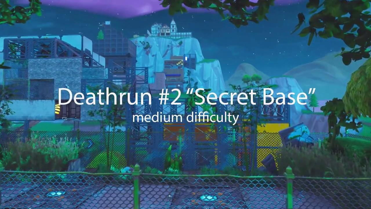 Secret Base Deathrun Fortnite Creative Fortnite Tracker