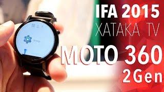 Moto 360 2Gen, toma de contacto - IFA 2015