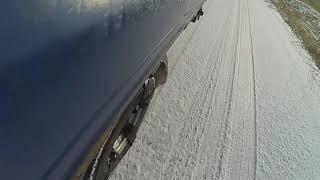 사일런트 스파이크 스노우체인 도로주행 영상
