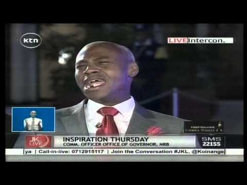 "Jeff Koinange Live [Part 1] Nyambane gives ""Retired President Daniel arap Moi"" a new meaning"