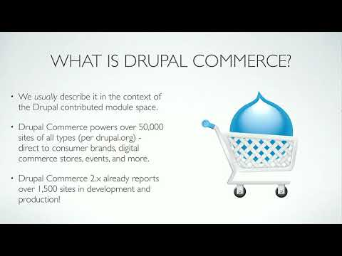DrupalCon Vienna 2017: Marketing and Selling the Drupal Commerce Ecosystem