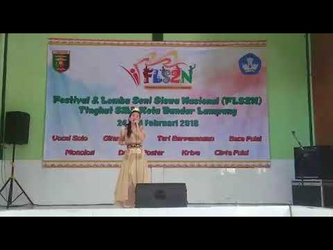 Ingok Selalu ( Lagu Lampung) Fls2n Sma tingkat kota Bandar lampung tahun 2017/18