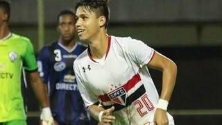 Gols, São Paulo 3 x 2 Lanús - Tricolor Finalista Libertadores (Sub-20) 2016