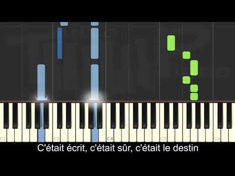 Vitaa & Slimane - VersuS (piano Facile Avec Paroles)