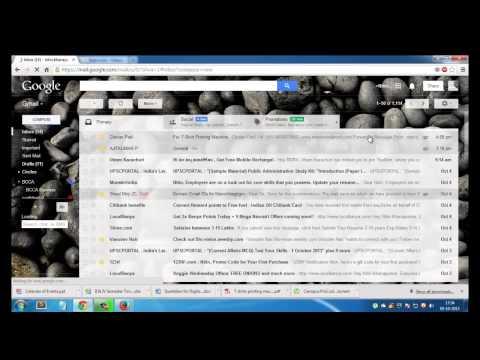 Yahoo Email Login Demonstration.