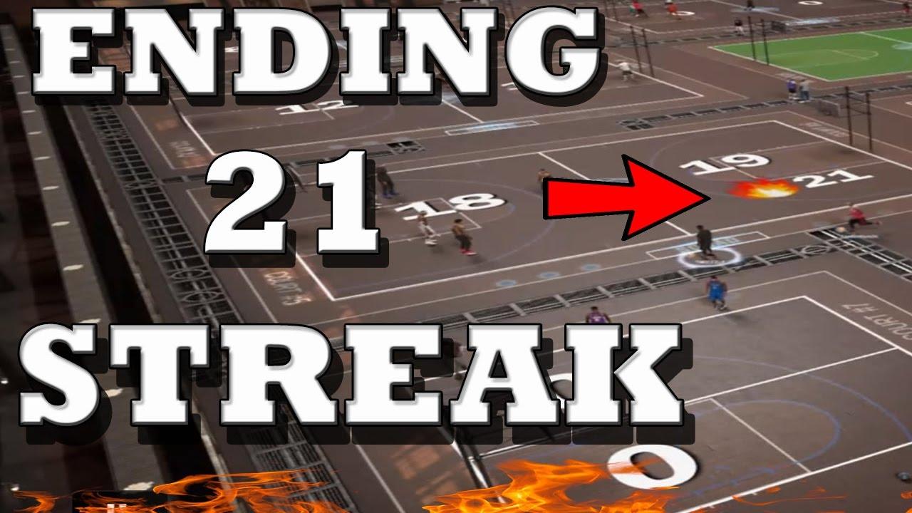 Download ENDING 21 STREAK CRAZY COMEBACK NBA 2K17 MYPARK FT TMIZZZLE