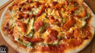 How to make Pizza | CHICKEN PIZZA | A COMPLETE PIZZA RECIPE |