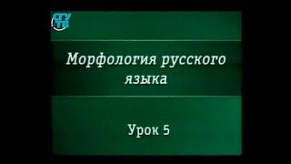 Урок 5. Имя числительное как часть речи