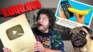 1.000.000 ! | Life Hacks, Προκλήσεις, Συνέντευξη στον Rocky
