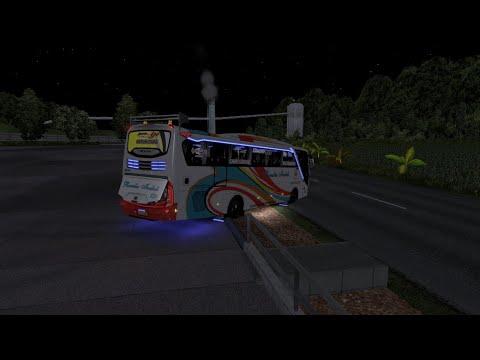 ETS2 bus Ceper siap menyapu aspal sumatra