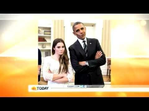 What phrase..., Mckayla maroney president obama