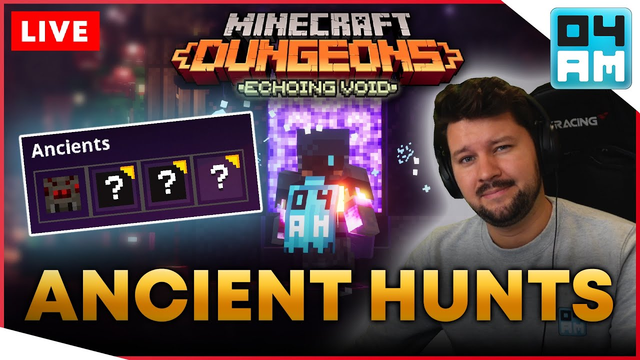 Download 🔴ECHOING VOID DLC - Ancient Hunts: Apocalypse Gilded Gear Farming in Minecraft Dungeons