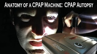 CPAP Autopsy. The Anatomy of a CPAP Machine.  What is inside a CPAP Machine?