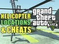 GTA 5 Secrets - All Helicopter Locations + Buzzard Cheat Code (Spawn Attack Helicopter)