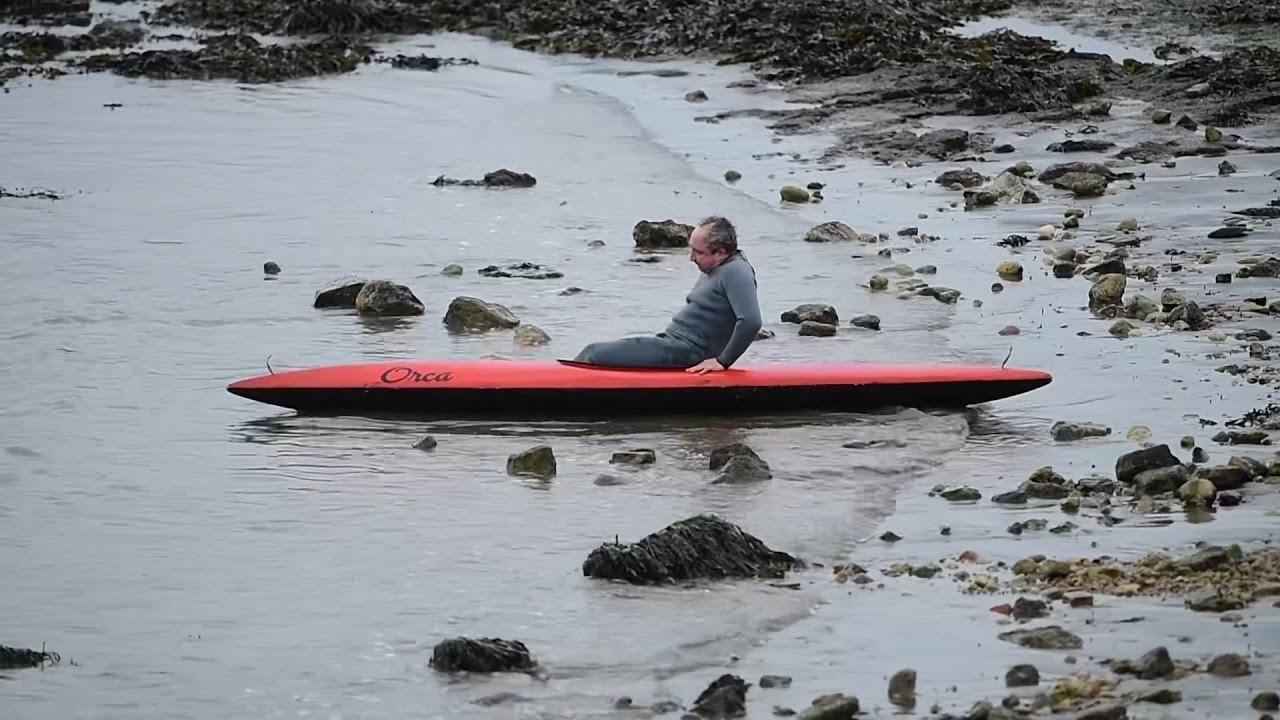 Eddie Marsan has a rocky start in his canoe as he plays John Darwin in the new ITV Drama