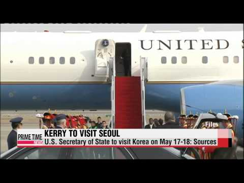U.S. Secretary of State John Kerry to visit Korea next week   케리 美국무 방한…″17