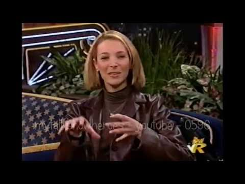 LISA KUDROW DOES JAY LENO