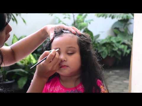 Easy Make Up for Little Girl, Cara Mudah Make Up si Kecil