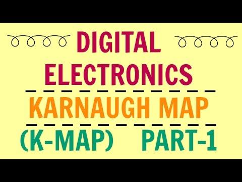 Digital Electronics | Lecture-15 | Karnaugh Map | K-Map