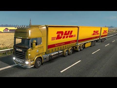 ETS2 2.0 #53 |Scania DHL Tren De Carretera Triple Remolque En España!!!  | JMGamer