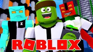 Roblox - BECOMING BEN10 AND ALL OF THE ALIENS!