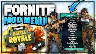 Fortnite - USB MOD MENU + DOWNLOAD (XBOX ONE, PS4 & PC) WORKING Fortnite Mod Menu Free V bucks