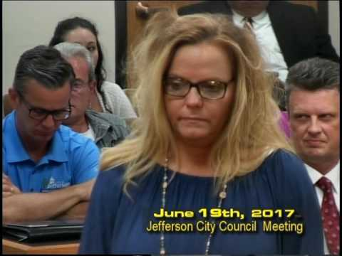 Jefferson City Council Meeting June 19th 2017