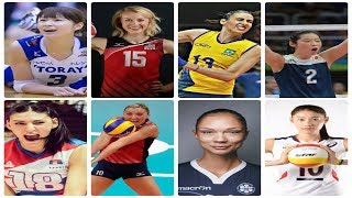 Top 15 The Best Women's Volleyball Spikers In The World