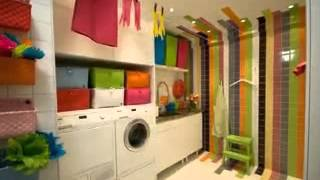 Creative Laundry Room Cabinets Design Ideas