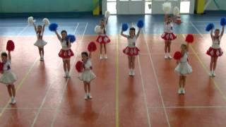 Соревнование черлидеров. Владивосток. 09.06. 2013