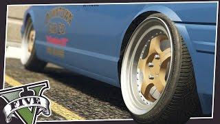 stretch tires in gta 5