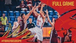 Croatia v Latvia - Full Game - Quarter-Final - FIBA U16 European Championship 2017