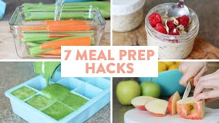 7 MUST KNOW Meal Prep Hacks! Part Two