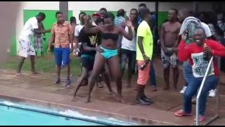 Campus pool party