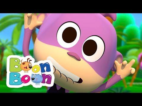 Povestea unui maimutel – Cantece pentru copii | BoonBoon – Cantece pentru copii in limba romana