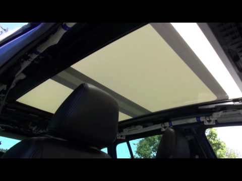 VW Touran Sunroof Shade Replacement by Cooks Uphosltery