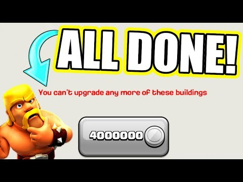 ITS ALL OVER! WE CANT UPGRADE ANY MORE! - Clash Of Clans